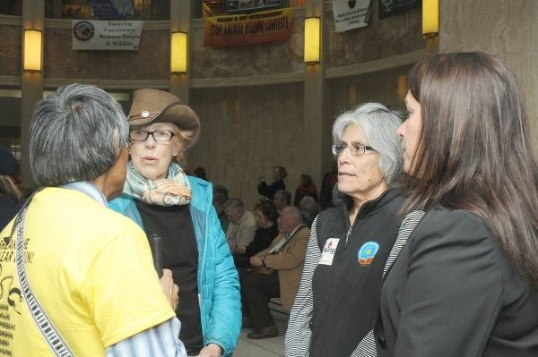 Conservation Voters New Mexico - New Mexico State Capitol - February 12, 2016