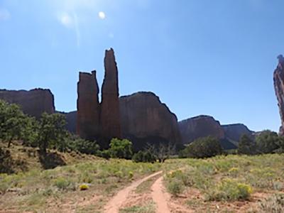 Spider Woman Rock - Canyon de Chelly