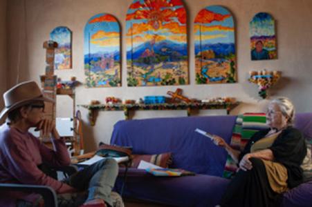 Anita Rodriguez in Taos