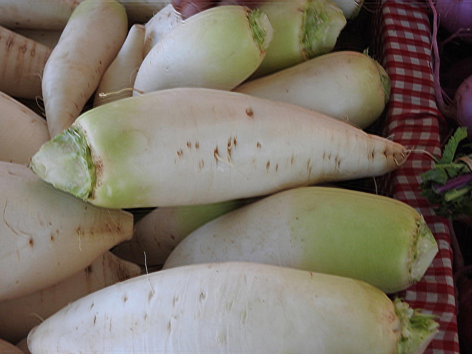 Santa Fe Farmers Market - Turnips