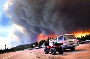 Santa Fe Wildfires