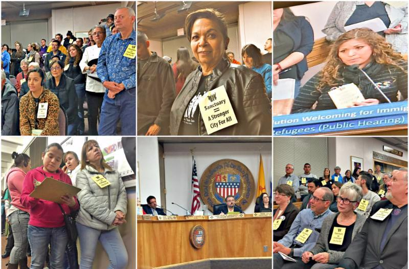 Santa Fe City Council Votes Unanimously to Approve Stronger Sanctuary Resolution