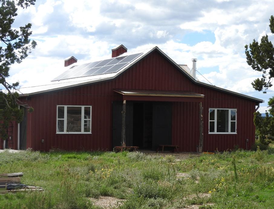 Apache Mesa - Barn