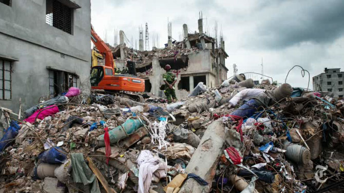 Rana Plaza building collapse