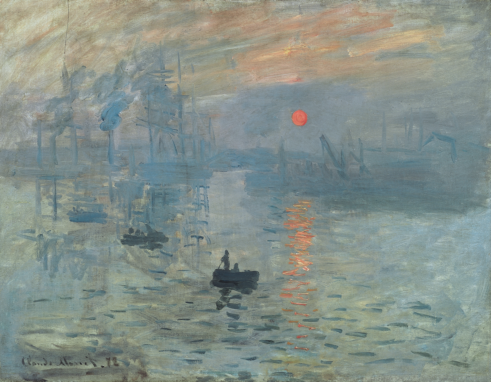 Claude Monet: Impression, Sunrise