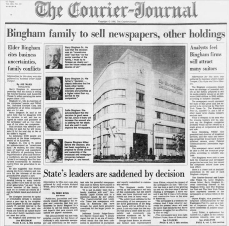 Louisville Courier-Journal 1986