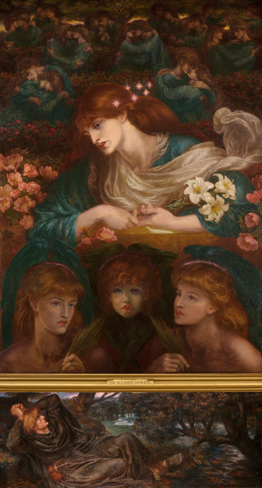 Dante Gabriel Rossetti: The Blessed Damozel (wikipedia)