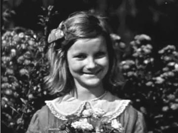 Doris Duke as a Child