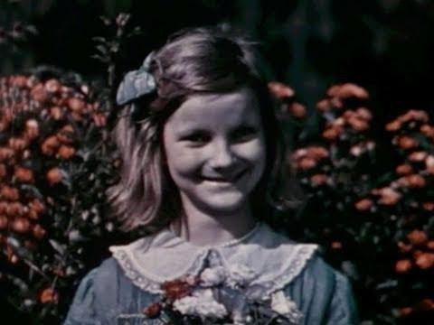 Doris Duke as a child