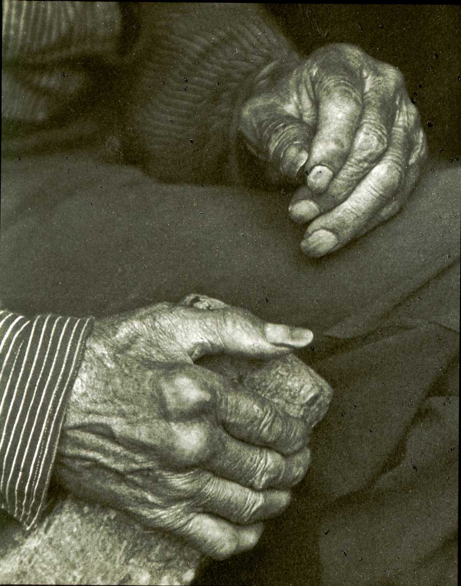 Laborers Hands by Doris Ulmann