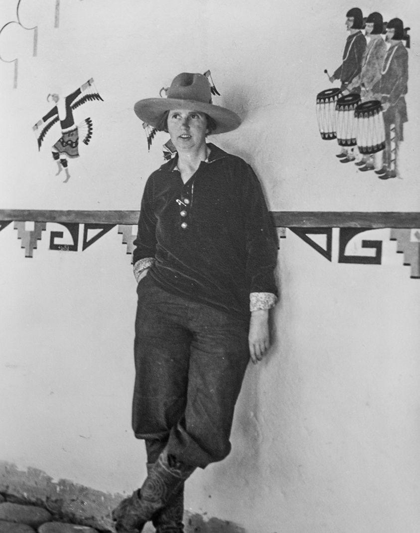 Photo of Dorothy Brett in 1924
