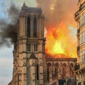 Notre Dame de Paris - Fire