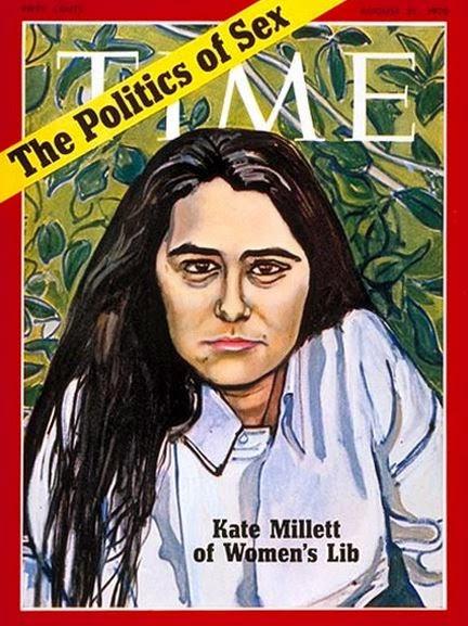 Kate Millett - Politics of Sex, Time Magazine