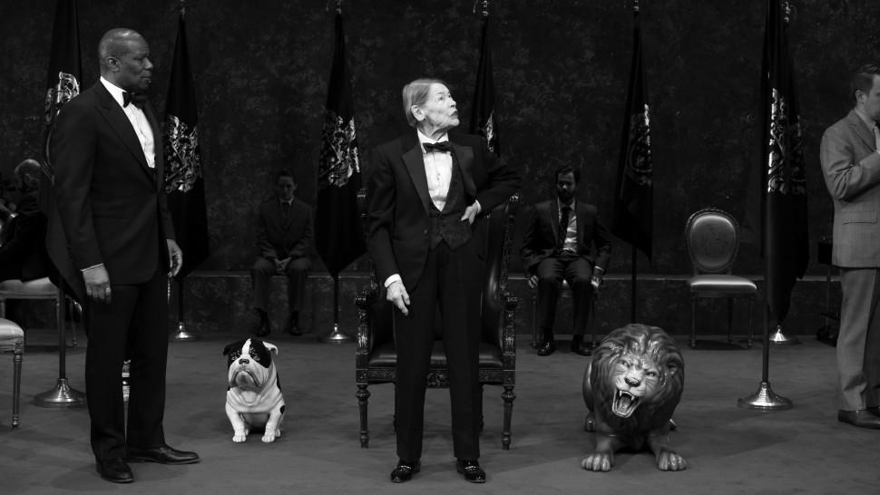 Glenda Jackson and Cast of King Lear Brigitte Lacombe