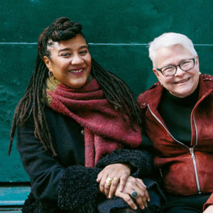 Lynn Nottage, left, and Paula Vogel in New York this month. Credit Tawni Bannister for The New York Times