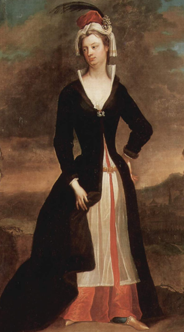 Lady Mary Wortley Montagu by Charles Jervas - Wikipedia