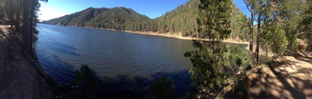 McClure Reservoir 2013