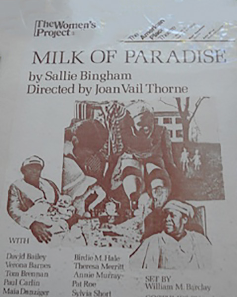 Milk of Paradise poster