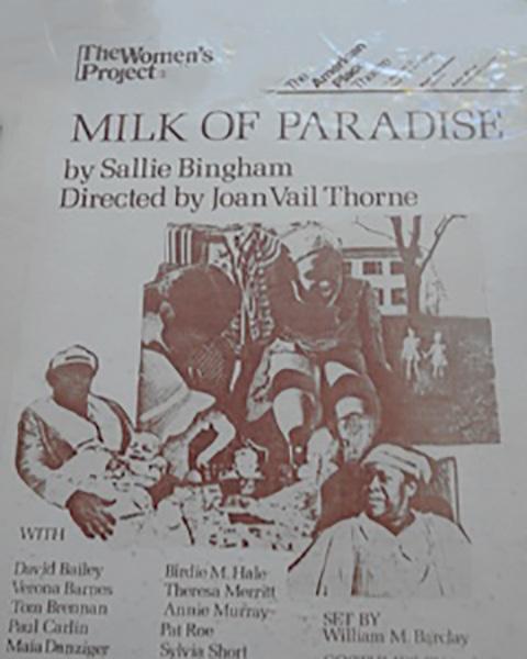 Milk of Paradise poster