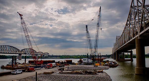 Ohio River Project Construction