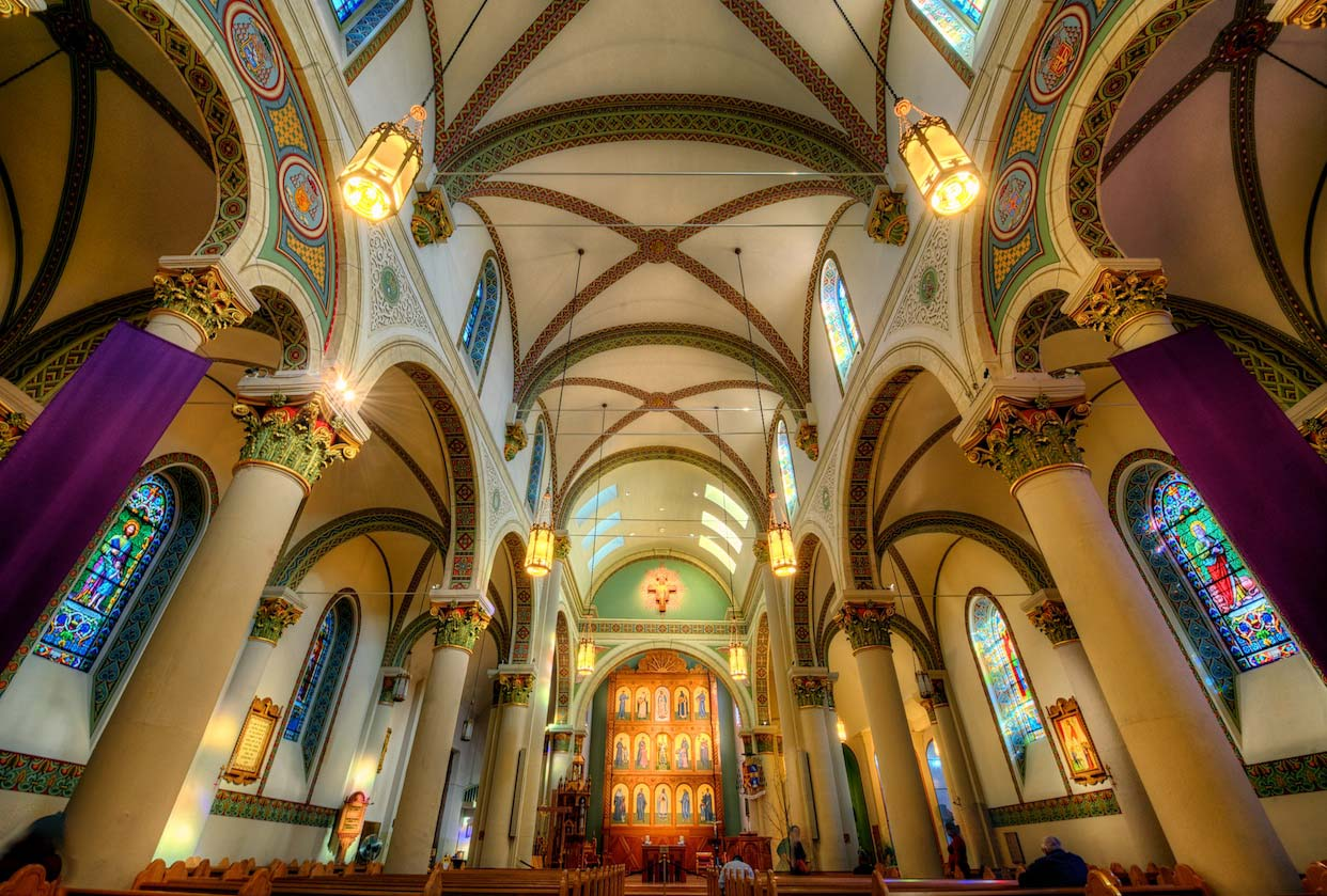 St. Francis Cathedral, Santa Fe NM - photo by Jim Nix