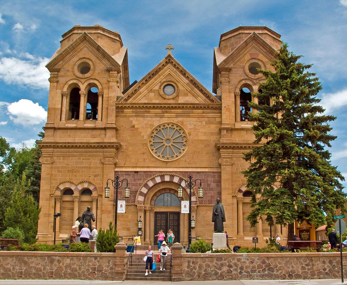 St. Francis Cathedral, Santa Fe NM - photo by John Fowler