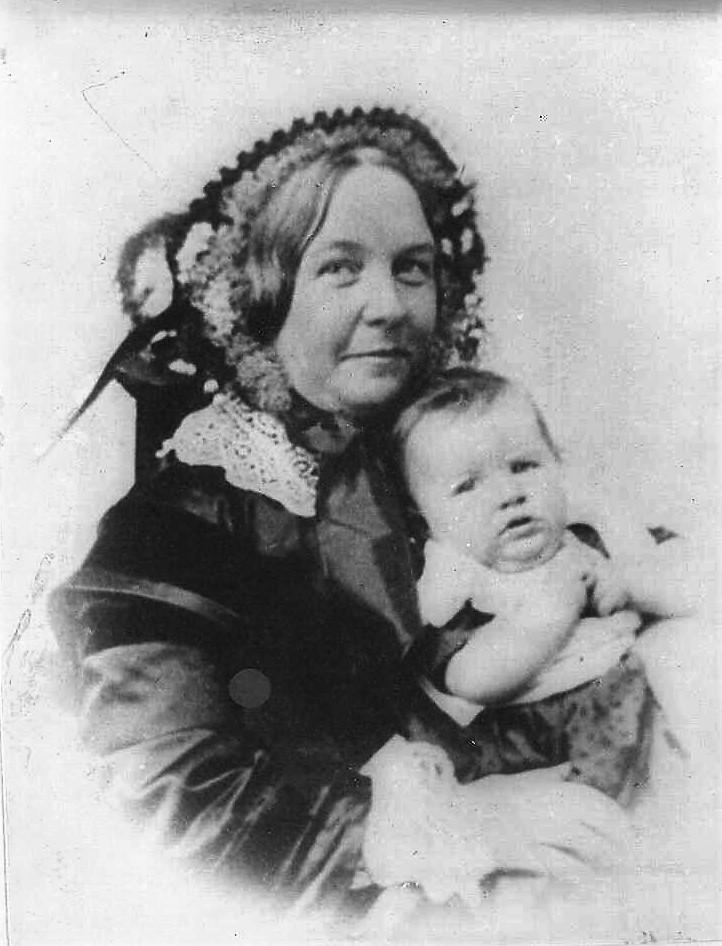 Elizabeth Cady Stanton and Harriot 1856