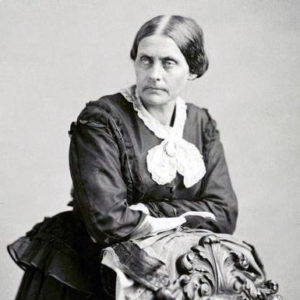 Susan B. Anthony by Saroney
