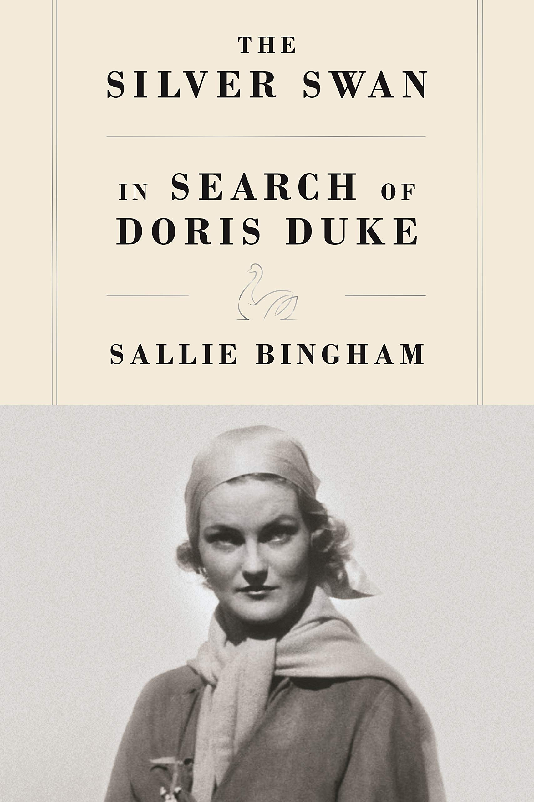 Book jacket of The Silver Swan - In Search of Doris Duke