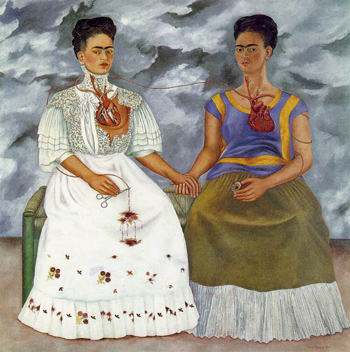 The Two Fridas - Frida Kahlo