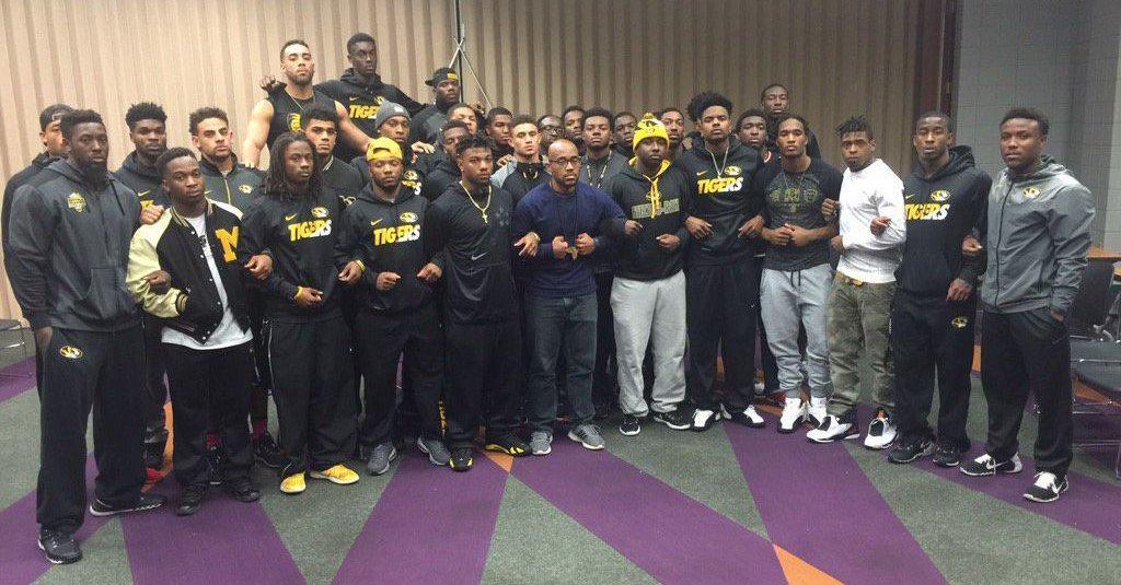 University of Missouri Football Team Protest