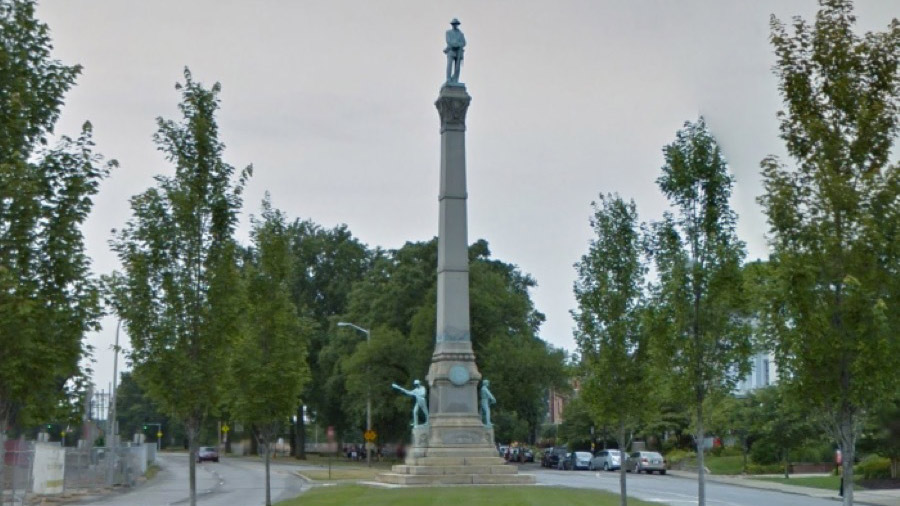 University of Louisville Confederate Monument