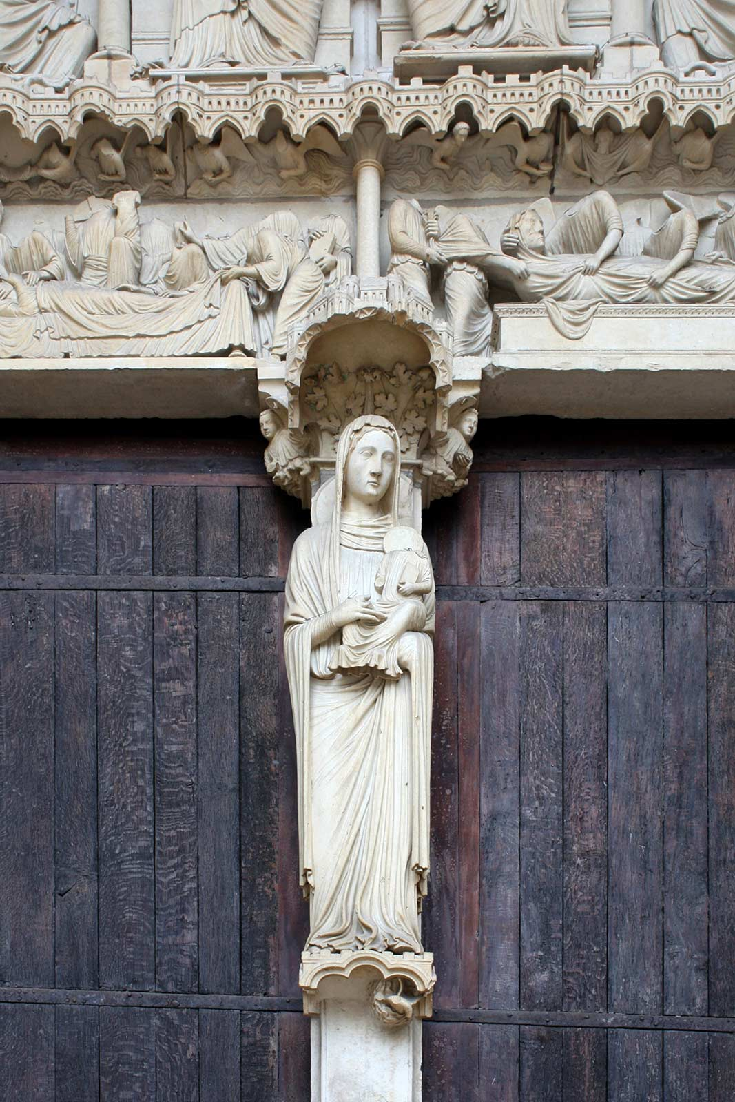 The Virgin Mary - Chartres Cathedral