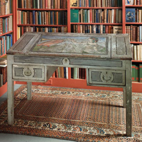 Virginia Woolf's desk