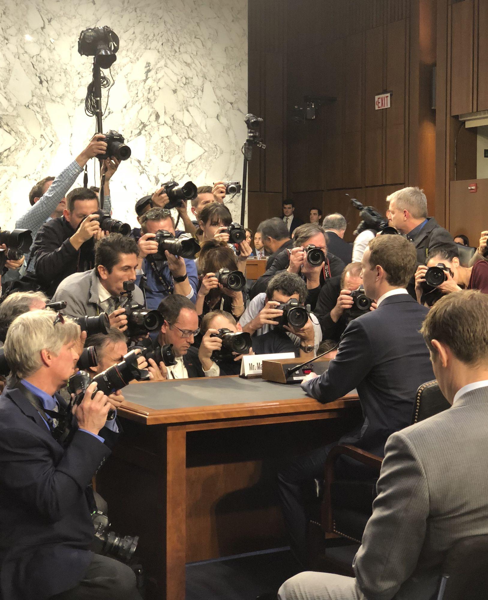 Zuckerberg - Congress