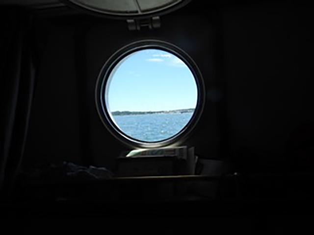 Aboard the Arabella