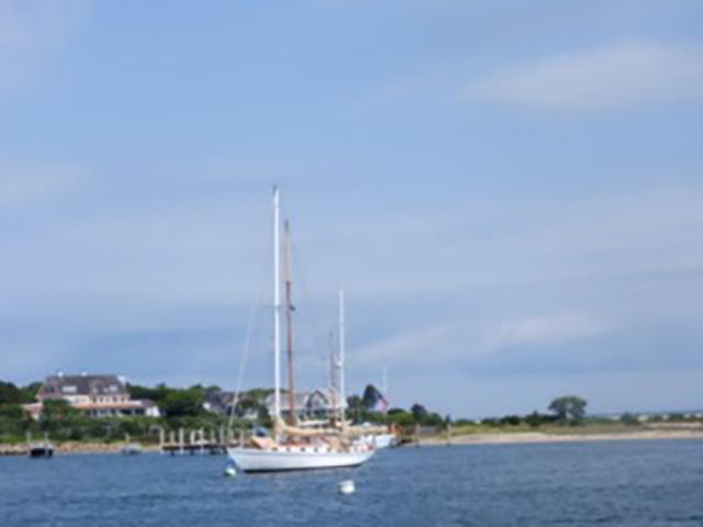Aboard the Arabella - Martha's Vineyard