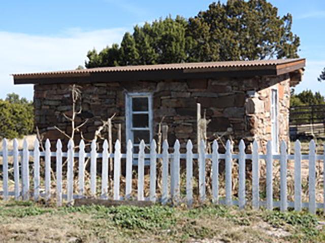 Apache Mesa Stone House, NM