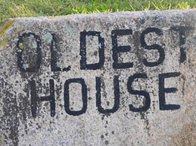 cOldest House Historical Marker
