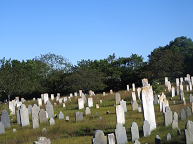 Quaker Graveyard - Nantucket
