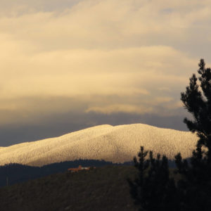 Photo of mountain in Santa Fe