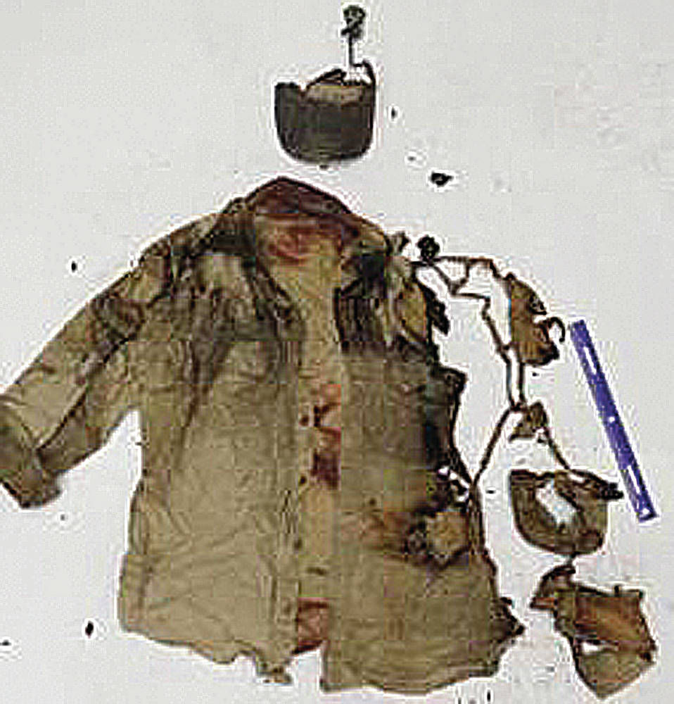 Worker's burned coat / Los Alamos National Laboratories