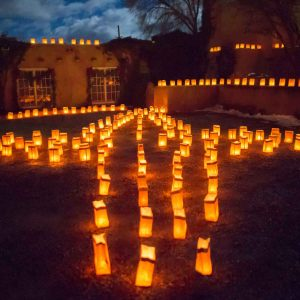 Christmas Eve in Santa Fe