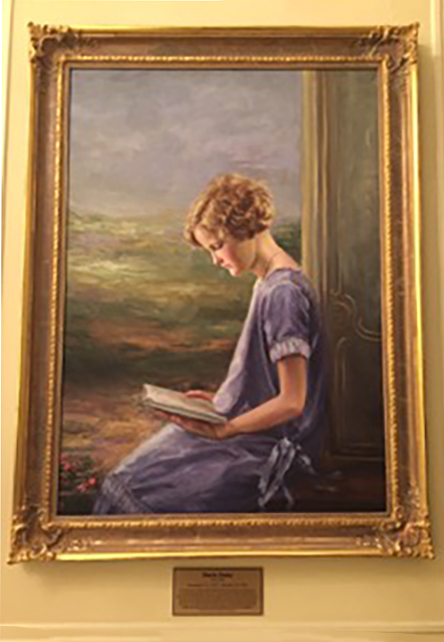 Doris Duke Reading (painting)