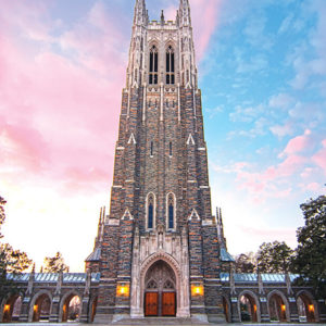 Duke Chapel - photo: WIilliam H. Majoros