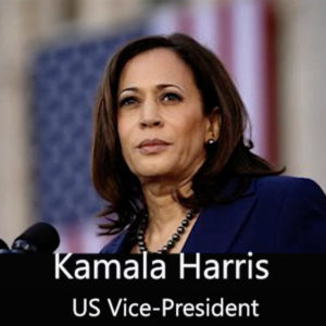 Photo of Kamala Harris from video