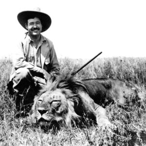Ernest Hewmingway - Lion