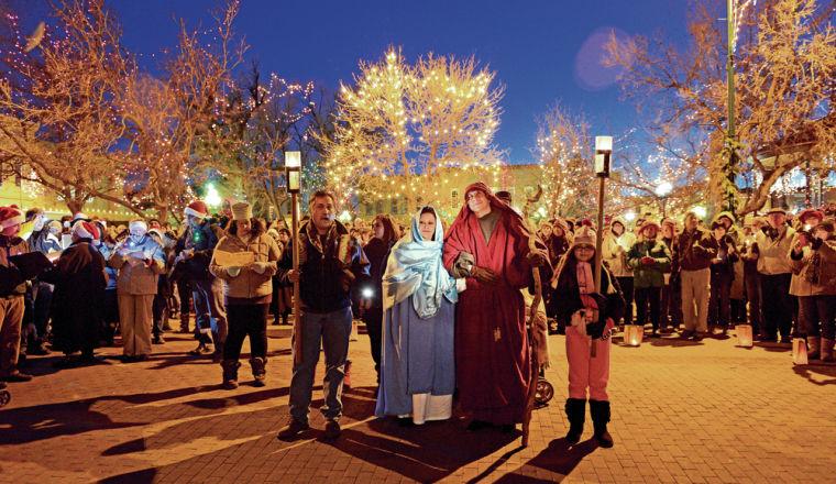 Las Posadas Procession in Santa Fe. Photo: Santa Fe New Mexican