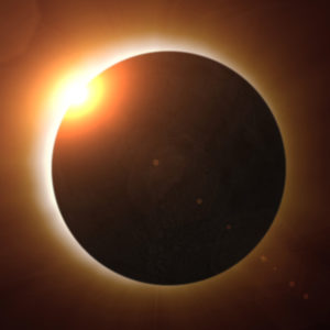 Solar Eclipse - image from NASA
