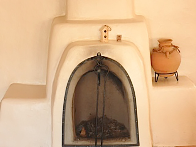 Mabel Dodge Luhan's Fireplace